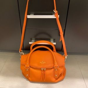 Kate Spade ♠️ Cobblehill crossbody bag in Orange